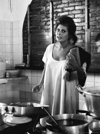 Actress Sophia Loren