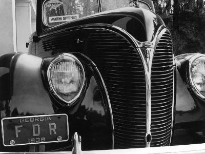 President Franklin Roosevelt's 1938 Ford Sedan
