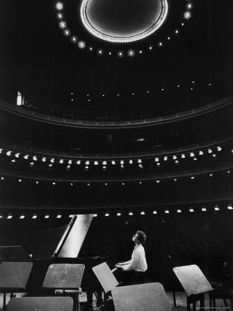 Tchaikovsky Competition Winner Van Cliburn