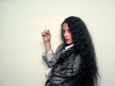 Actress Sonia Braga, Holding Cigarette