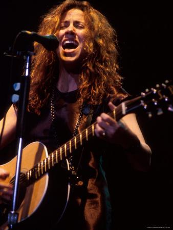 Singer Sheryl Crow Performing
