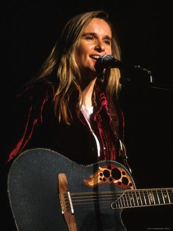 Singer Melissa Etheridge Performing