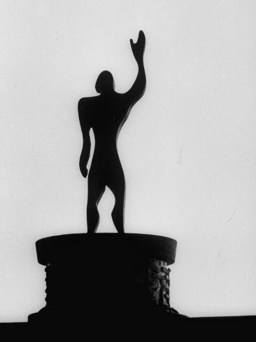 Statue Of Le Modulor By Le Corbusier S Ratio Of Architectural