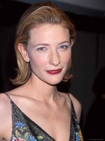 "Actress Cate Blanchett at Film Premiere of Her ""Elizabeth"""