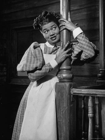"Actress Pearl Bailey Performing in the Musical ""St. Louis Woman"""