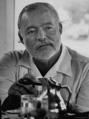 Hemingway at Fishing Tournament