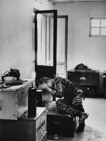 Lance Corporal James Farley in Tears at Death of Lt. James Magel After Confrontation with Viet Cong
