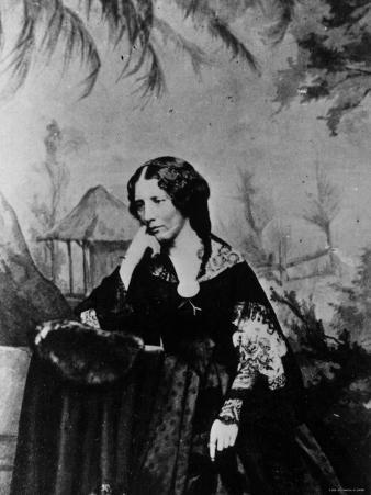 "Harriet Beecher Stowe, American Novelist and Humanitarian, Author of ""Uncle Tom's Cabin"""