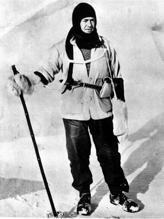 Robert Falcon Scott, British Naval Officer and Explorer of Antarctica