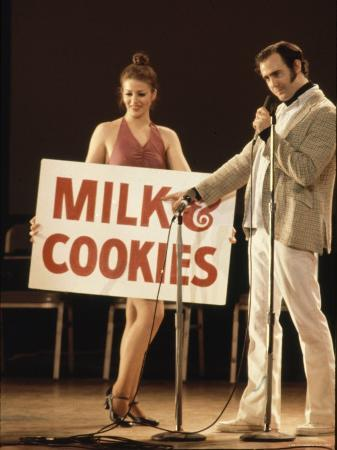 Comedian / Actor Andy Kaufman During Performance at Carnegie Hall