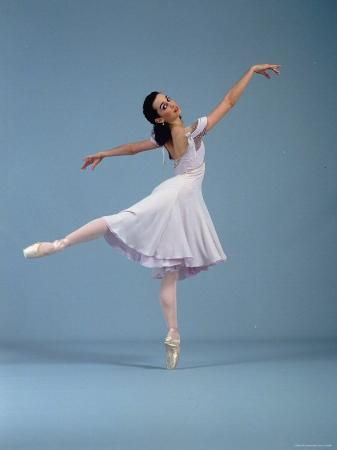 "21 Year Old NYC Ballet Ballerina Jenifer Ringer in Graceful Move from Ballet ""Romeo and Juliet"""