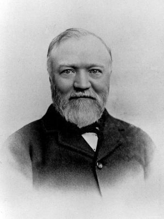 Scottish Born American Industrialist and Philanthropist Andrew Carnegie