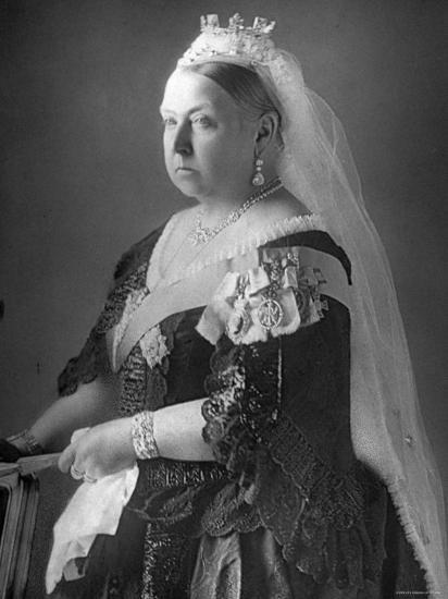 Queen Victoria at Her Diamond Jubilee Premium Photographic