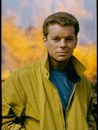 Russ Tamblyn as Riff, Gang Leader of the Jets in Scene from West Side Story