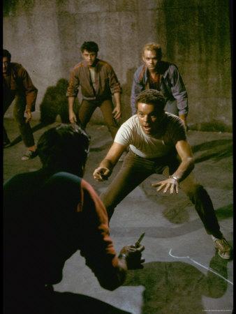 Knife Fight Scene from West Side Story