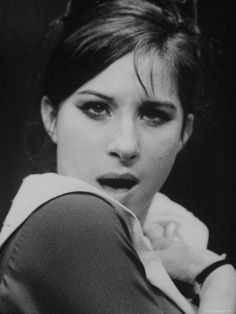 """Close Up of Barbra Streisand in Scene from Stage Production """"I Can Get It for You Wholesale."""""""