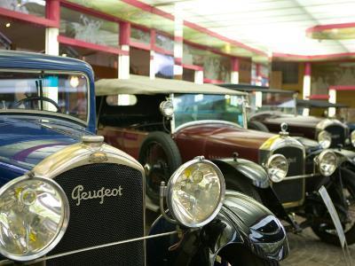 Peugeot Car Museum, Montbeliard, Sochaux, Jura, Doubs, France