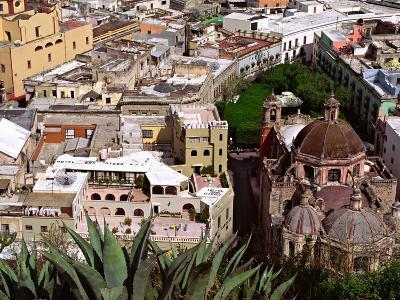 City View Including the Church of San Diego, Guadalajara, Mexico