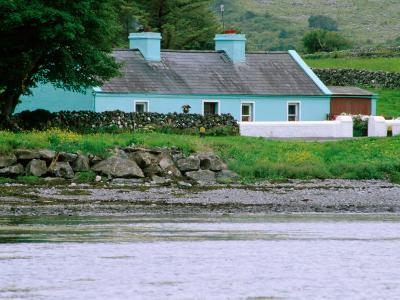 Cottage by Water, Ballyvaughan, Ireland