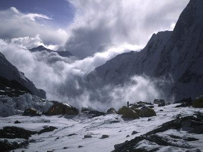 Advanced Base Camp on South Side of Everest