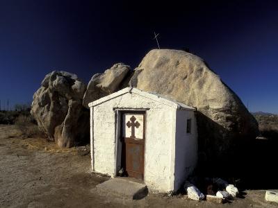 Catholic Church, Catavina Desert, Baja Region, Mexico