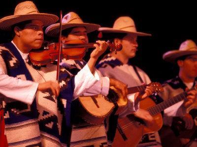 Folkloric Dance Show at the Teatro de Cancun, Mexico