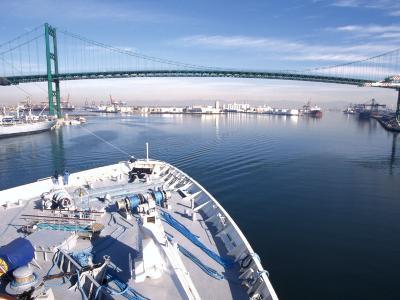 Port of Los Angles, Harbor, Cruise Ship Landing, California, USA