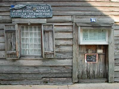 Oldest Wooden School House in America, St. Augustine, Florida, USA