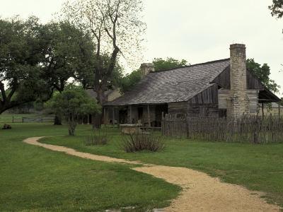 Johnson Homestead, LBJ National Historic Park, Johnson City, Texas, USA