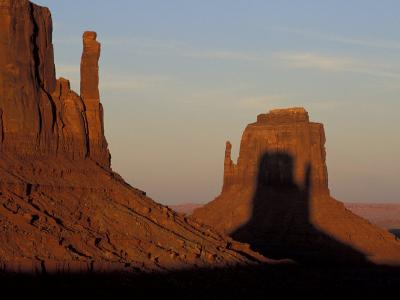 Sunrise at Mitten, Monument Valley, Utah, USA