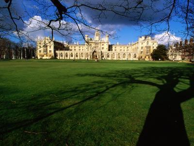 Historic St. John's College, Cambridge, United Kingdom