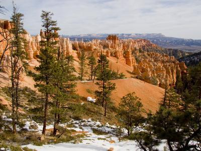 A View into the Bryce Canyon Amphitheater, Bryce Canyon National Park, Utah