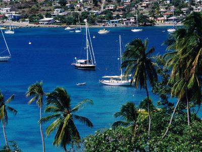 Yachts in Harbour, Port Elizabeth, St. Vincent & the Grenadines