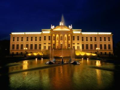 Palace of Education (1896) Houses the Ferenc Mora Museum, Szeged, Csongrad, Hungary
