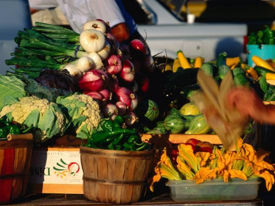 Fresh Produce At Farmer S Market Santa Fe New Mexico Usa