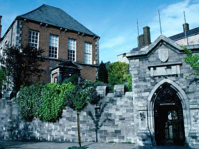 Exterior of Marsh Library (1701), Dublin, Ireland