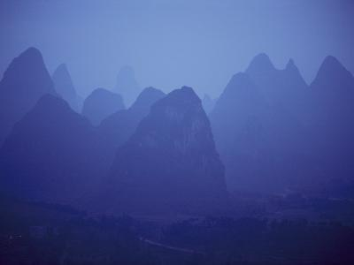 Rock Formations Near Guilin