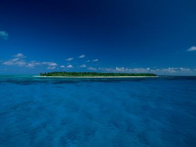 A View of an Island off the Coast of Belize