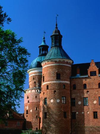 Gripsholm Castle on Malaren Lake, Sodermanland, Sweden