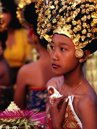 Dance Practice at the Palace in Ubud, Ubud, Indonesia