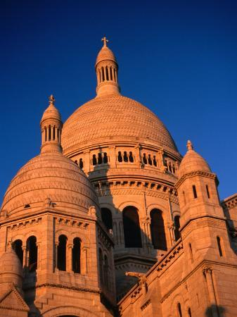 Domes of Sacre-Coeur Basilica, Paris, France