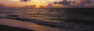 Surf at Sunrise, Miami Beach, FL