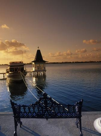 Sunset Over the Lagoon, Cancun, Mexico