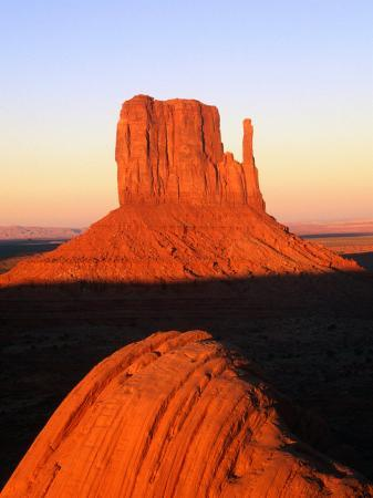 The East Mitten Butte, Monument Valley Navajo Tribal Park, USA