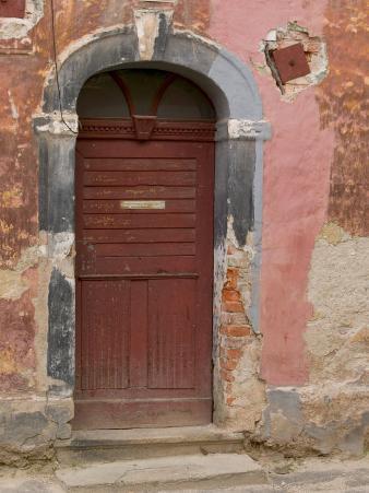 Old Door, Ceske Budejovice, Czech Republic