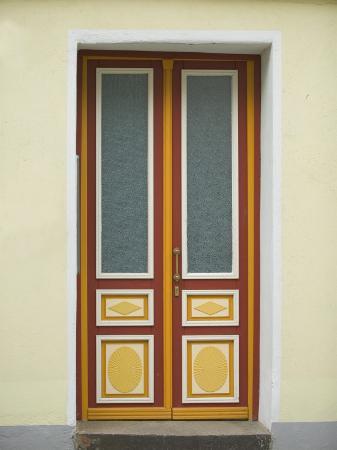 Orange Door, Warnemunde, Germany