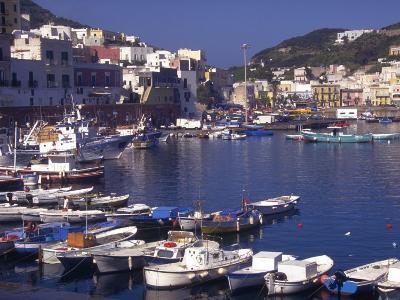 Port at Village of Ponza, Pontine Islands, Italy