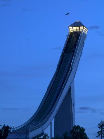 Homemkollen, built for the1952 Winter Olympic Games, Norway