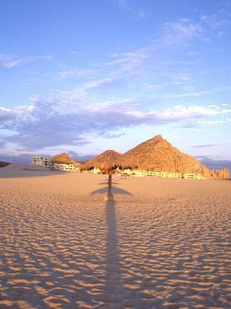 Beach Hut and Ocean, Cabo San Lucas, Mexico