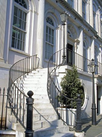 Historic District Entryway, Charleston, South Carolina, USA